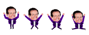 An example dance sprite used in 'Dancing with Marty'